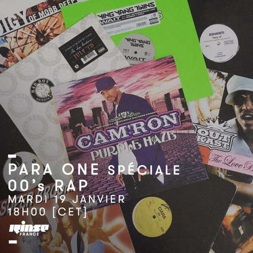 Para One - 00's Hip Hop Special On Rinse FR - 19/01/16 by Para One