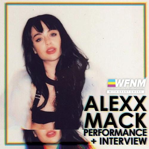 ALEXX MACK - SUNGLASSES (LIVE) - WE FOUND NEW MUSIC with GRANT OWENS
