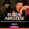 SPOT :: Tributo a Joaquín Sabina por Rubén  Abruzese en Quito