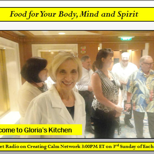 Podcast - Gloria Piantek - Food For Your Body, Mind and Spirit