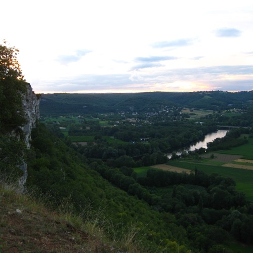 Thunder and Rain in the Valley of The Dordogne - - - Towards Dusk in The Lot