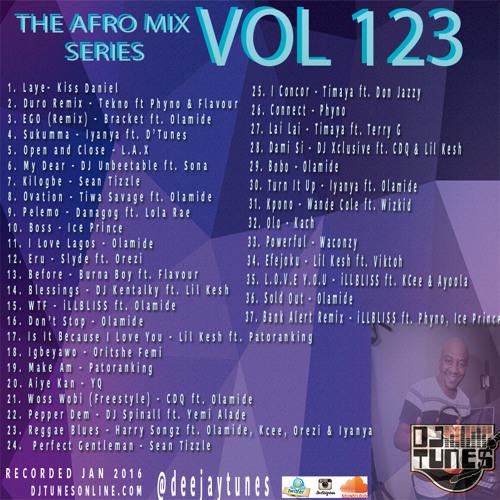 "Vol 123 Naija Mix ""Lagos Grindin"""