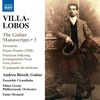 H. Villa-Lobos: Étude No. 7 (Excerpt)