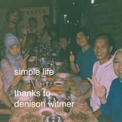 Simple Life (Denison Witmer Cover)