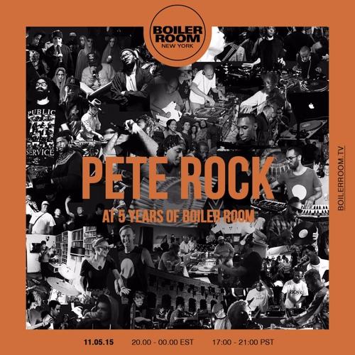 Pete Rock Boiler Room