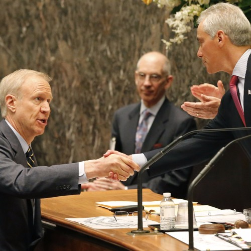 Hear what happened when Bruce Rauner met Rahm Emanuel for the first time