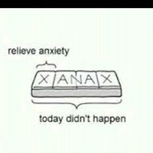 xanax doesnt make me tired