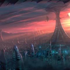 Touching Down In An Alien Metropolis