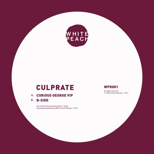 WPR001 - Culprate - Curious George VIP / Bside