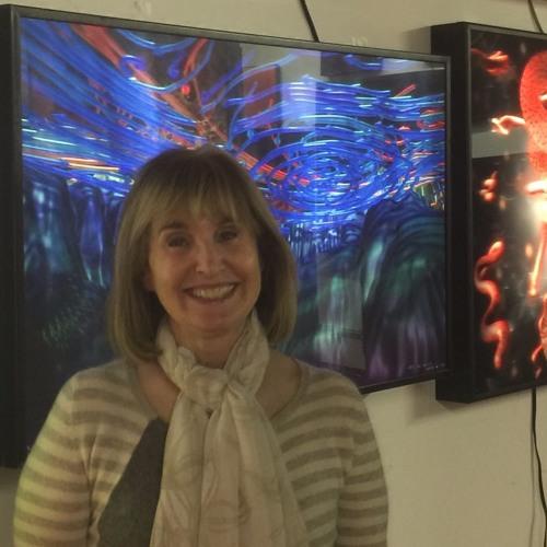 Fermi Lab's 2nd Artist In Residence Mixes Tech And Art