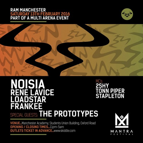 The Prototypes - Mantra Festival Warm Up Mix