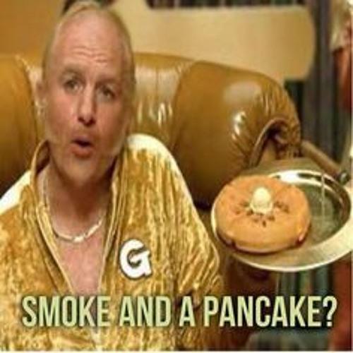 Smoke and a pancake