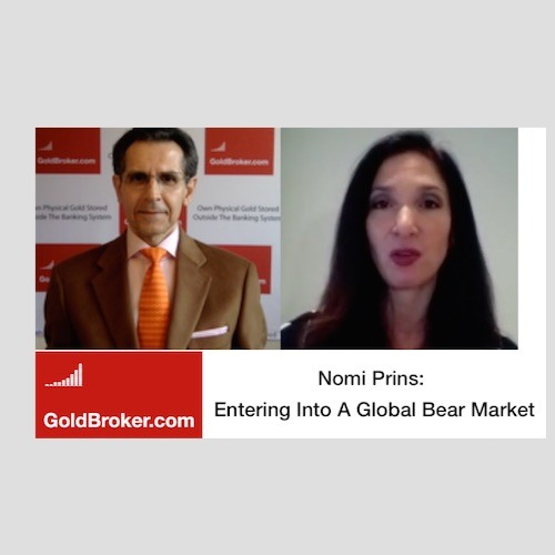 Nomi Prins: Have Central Banks Reached Their Limit?, Gold vs the US Dollar