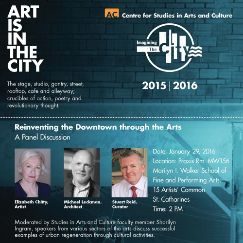 Reinventing the Downtown through the Arts