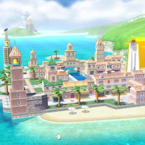 Remix: Super Mario Sunshine_Isle Delfino