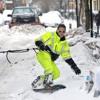#Tendencias: ¿recorrerías las calles de Nueva York en una tabla de snowboard?