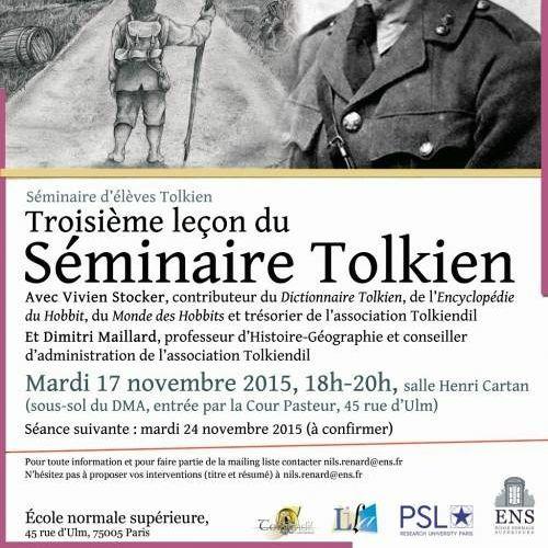 Séminaire Tolkien