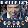 Geek Down 1 - 11 - 16
