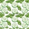 fresh cucumber slices (on lofi.hiphop 002)