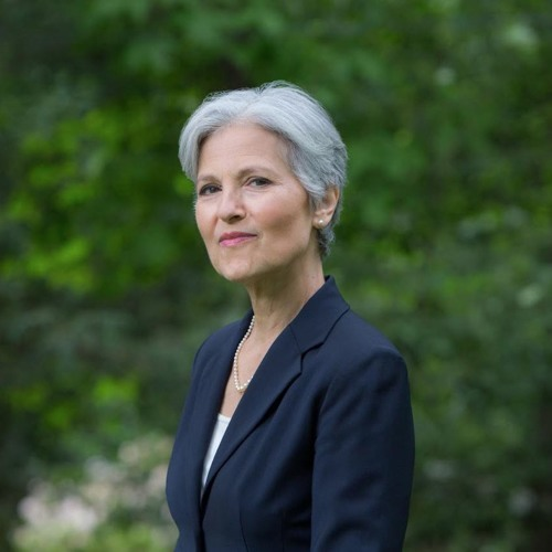 Jill Stein discusses her presidential campaign platform with David Swanson