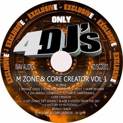 M zone & Core creator 4djscd case release