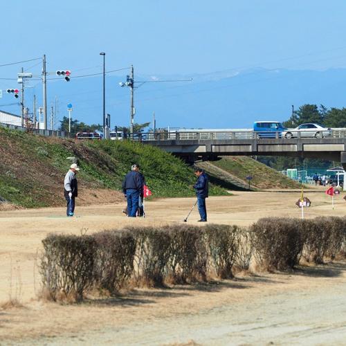 Yasugawa Riverside Ground Golf and Traffic