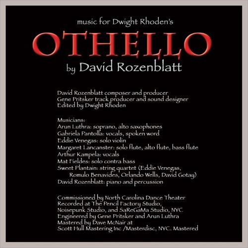 "David Rozenblatt - The End All from ballet ""Othello"""