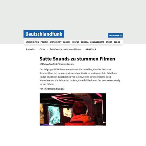Satte Sounds zu stummen Filmen © Deutschlandfunk