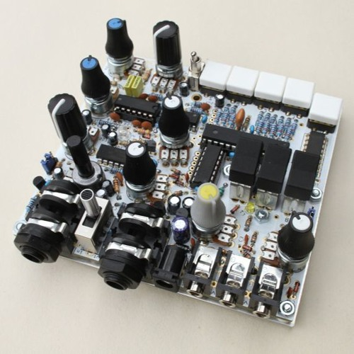 Voice Recorder Prototype, DEP2b, tr808, a-147 & a-160