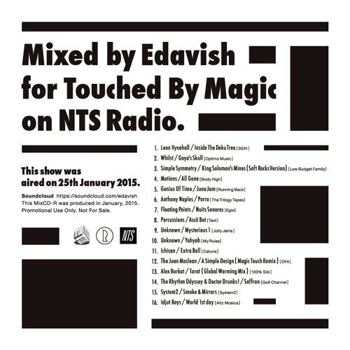 For Touched By Magic On NTS Radio