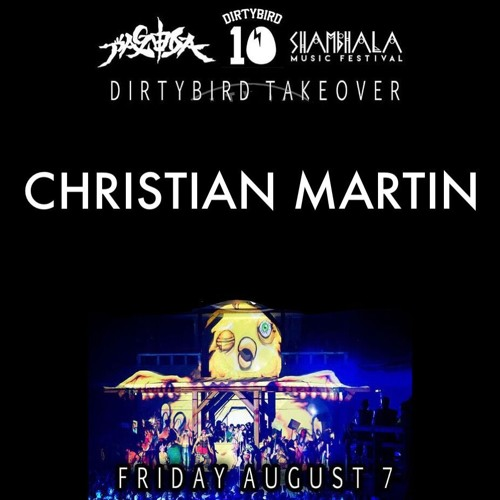 Christian Martin live at Shambhala, 8.7.2015
