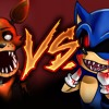FOXY VS SONIC.EXE - EPIC BATTLE - KRONNO ZOMBER