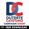 DUTERTE-CAYETANO campaign chant jingle (single)