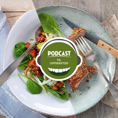 Gjenoppskrift – Erlend viser Øistein hvordan ett sett ingredienser, kan bli til to middager.