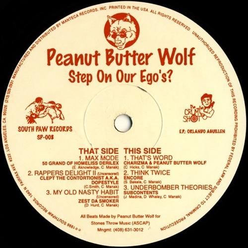Peanut Butter Wolf feat. 50 Grand of Homeliss Derilex- Max Mode(1995)