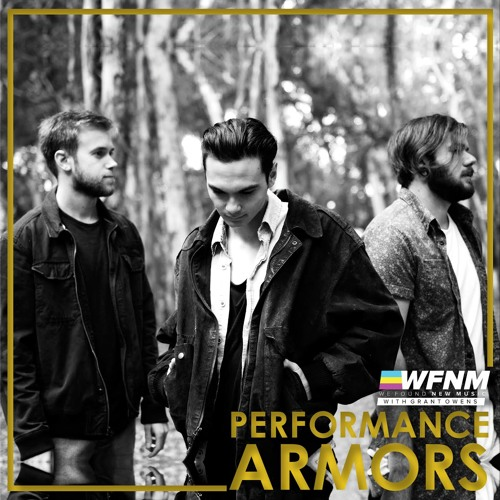 ARMORS - Catastrophic (LIVE) on WE FOUND NEW MUSIC with Grant Owens