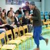 Barcella à Troyes pour un atelier d'écriture au lycée