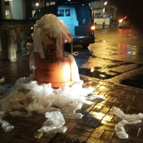 劉安怡小朋友對落雨天濫用遮袋的看法