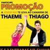 PROMOÇÃO A JOVEM RIO FM TE LEVA AO CAMARIM DE THAEME E THIAGO