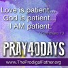 Pray40Days Sample - Lectio Divina with Love Is Patient