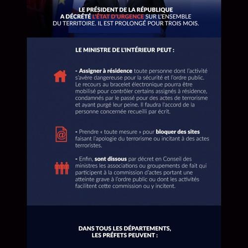 """""""Informer sous l'état d'urgence"""" par @Atelier_medias"""