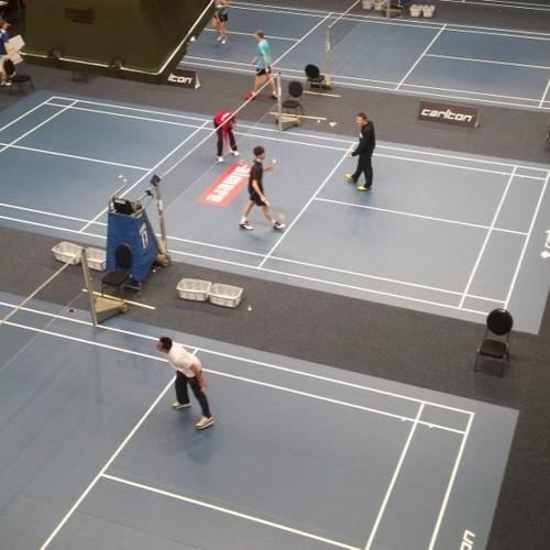 Carlton NK Badminton - Erik Meijs (Winnaar heren enkel)