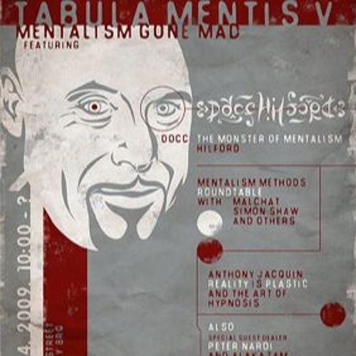 Tabula Mentis V - Anthony Jacquin