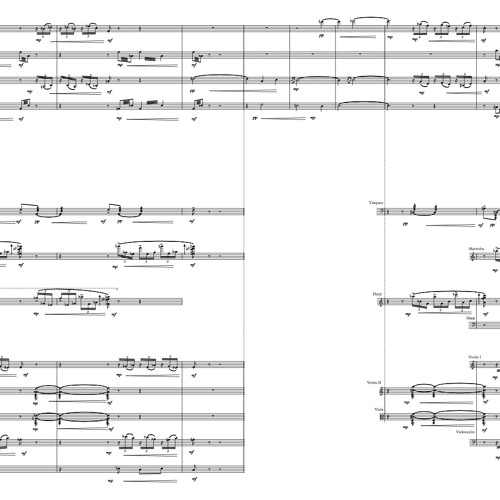Rhadopis for orchestra, III Movement