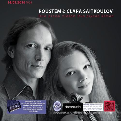 Roustem & Clara Saitkoulov -14 01 2016- 1
