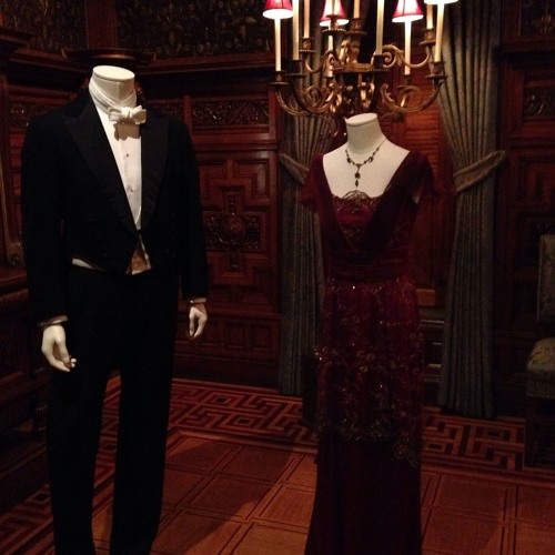 """Elegance on display at the """"Dressing Downton"""" exhibit at the Driehaus Museum"""
