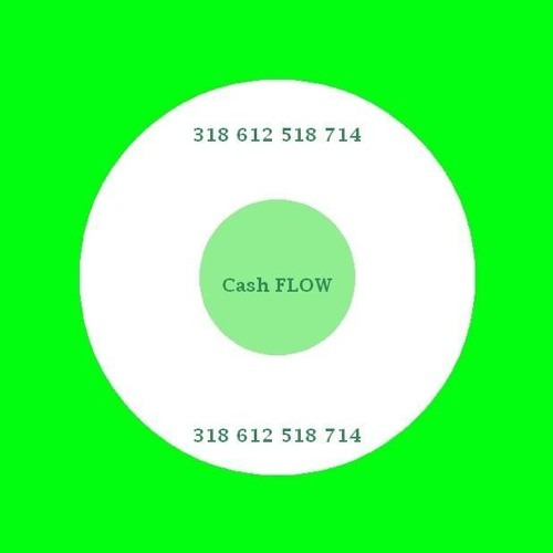 Cash Flow number code 318612518714