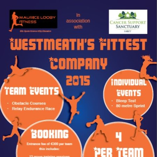Westmeath's Fittest Company 2016 Package
