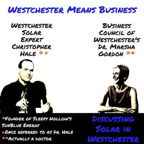 Discussing Solar in Westchester | Westchester Means Business Radio Show on WVOX