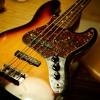 Fender JB Fretless Test with MXR M80 M87 M83